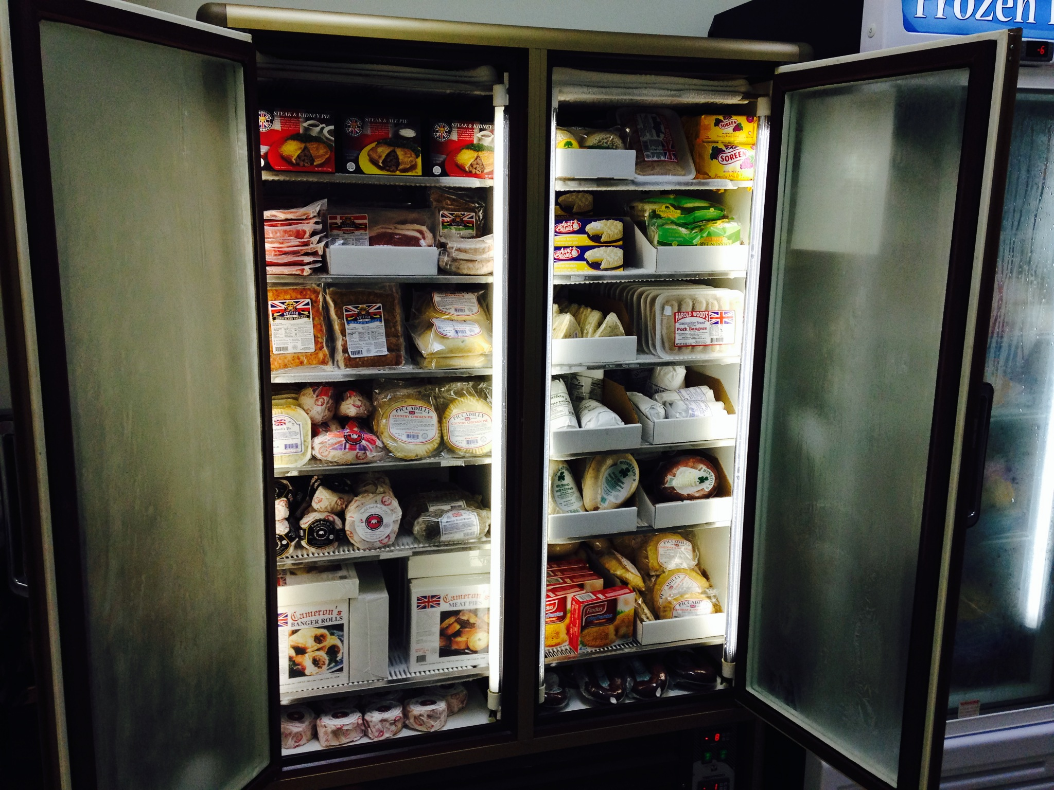 queens pantry freezers